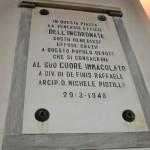 Stornarella_Lapide_della_facciata_della_Chiesa_Madre_della_Beata_Vergine_Maria_della_Stella