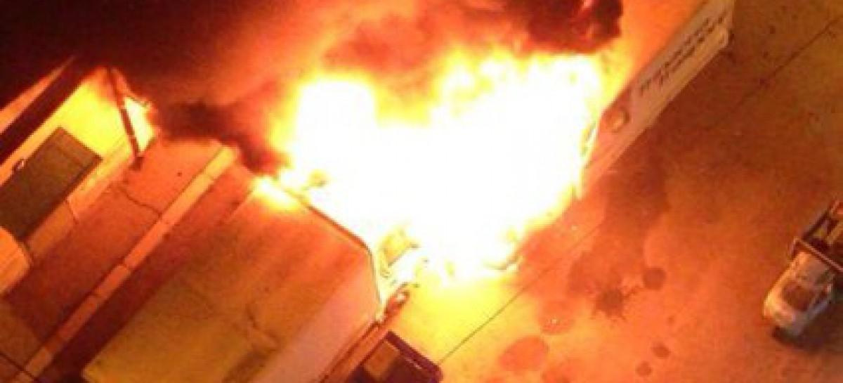 Foggia, esplode un camion in Via Rosati