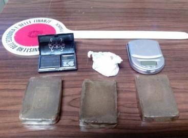 Manfredonia, hashish cocaina capi d' abbigliamento contraffatti 8 arresti