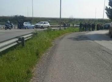 Foggia, perde il controllo della sua harley, muore motociclista