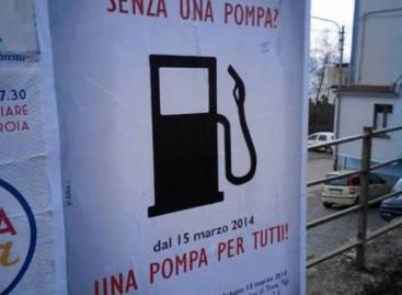 Troia, oggi l'apertura del distributore di benzina che ha puntato molto sul suo slogan