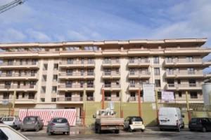 nuovo palazzo di piazza Padre Pio a Foggia