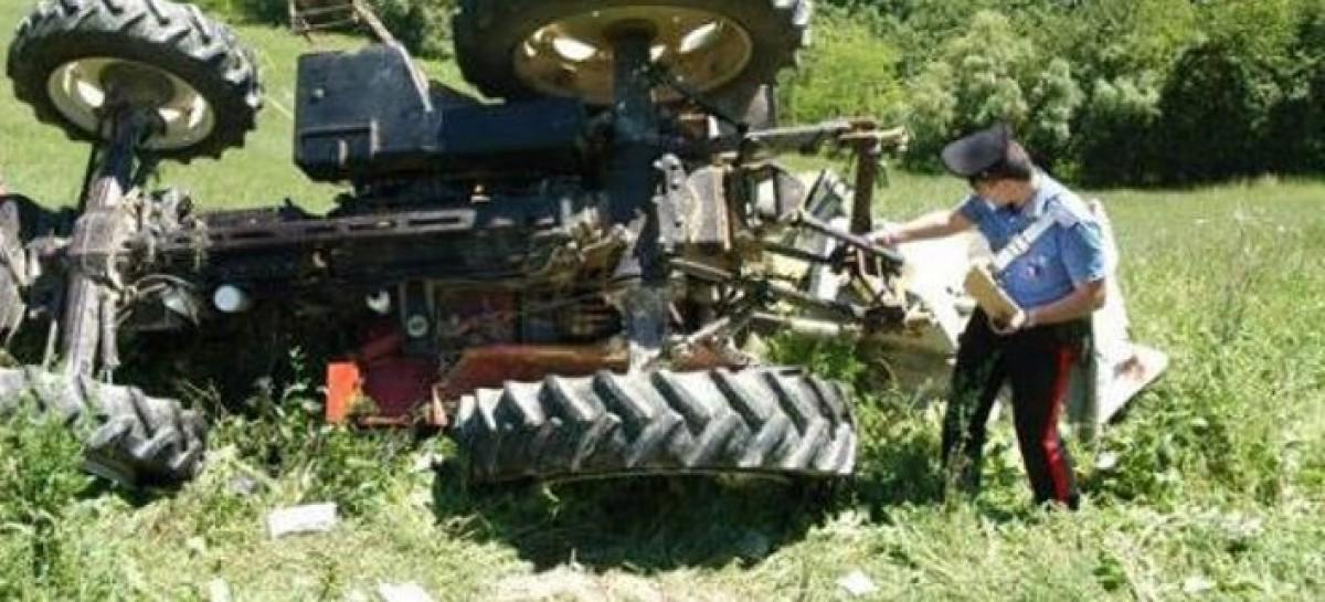 Foggia news, agricoltore muore schiacciato da un trattore