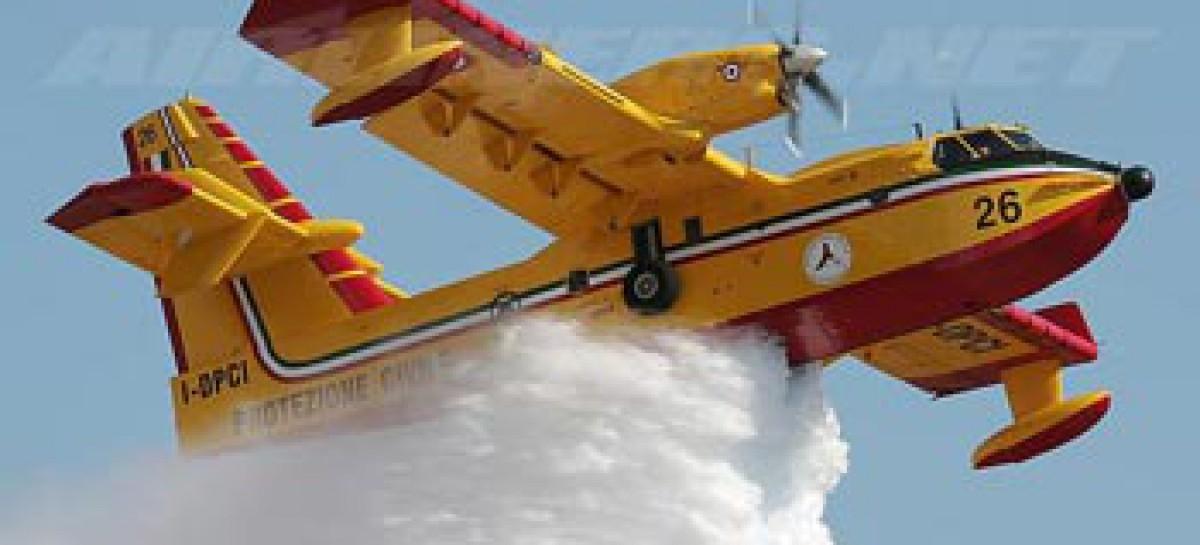 Manfredonia, a seguito di un' incendio a rischio 300 ettari di canneto