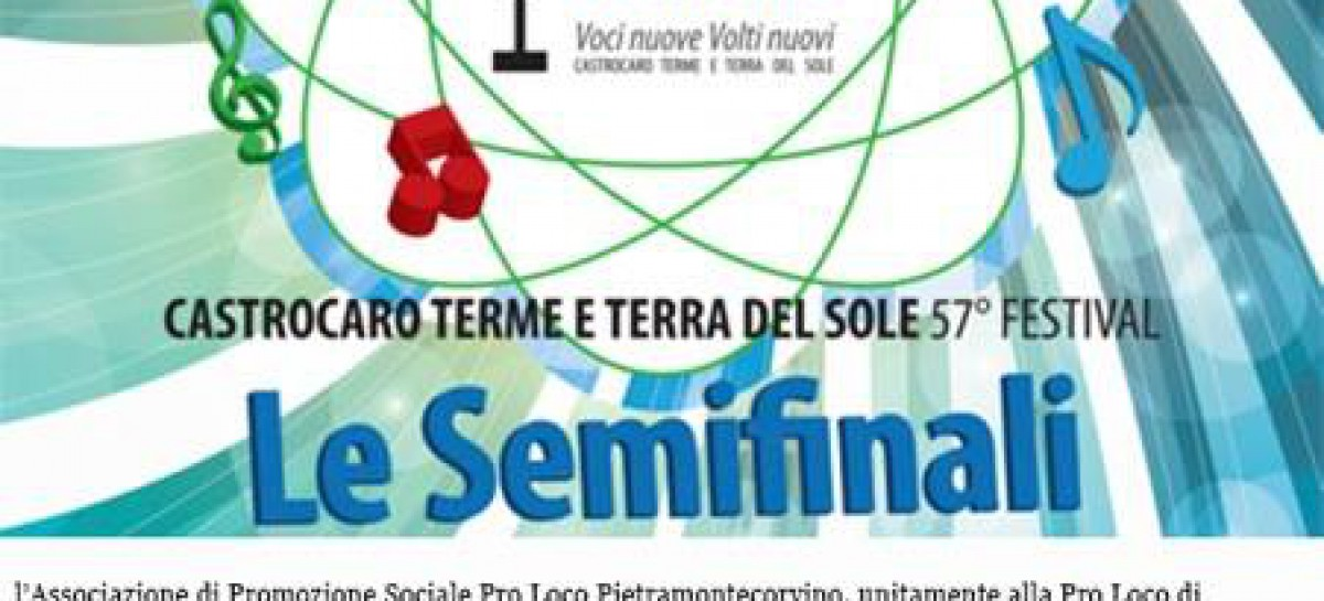 Terme di Castelnuovo della Daunia, live dal Festival di Castrocaro