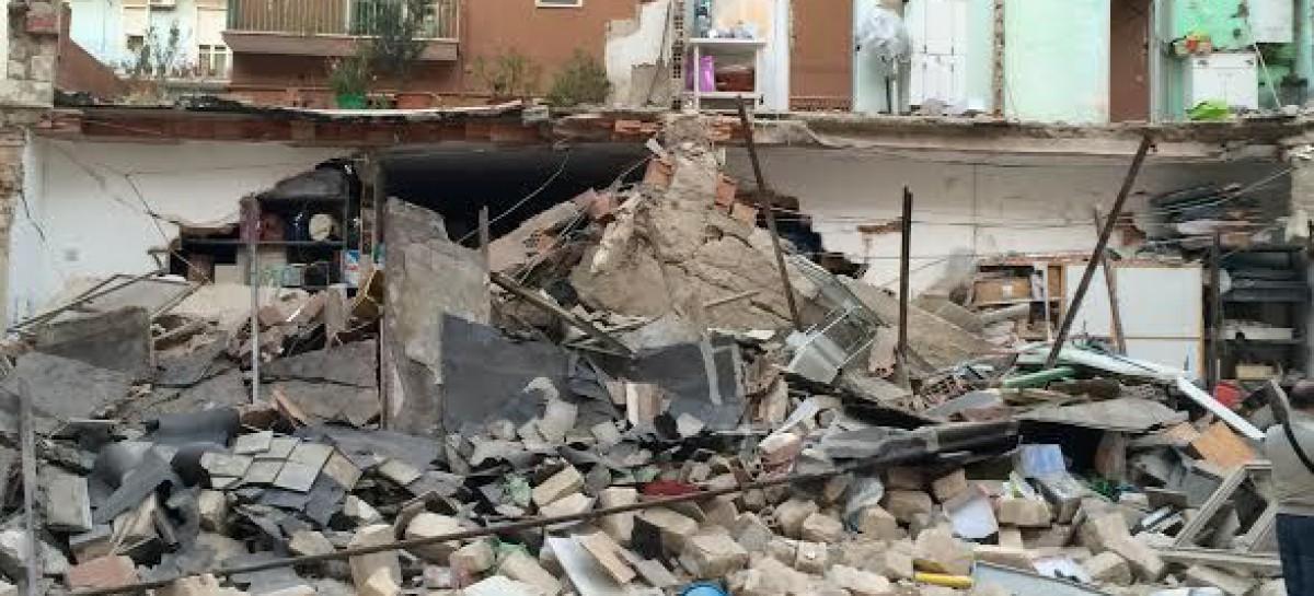 Foggia, crollo Via De Amicis, gravissimo anziano 85enne