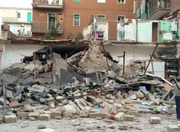 Foggia, ricostruzione completa crollo della palazzina in Via De Amicis