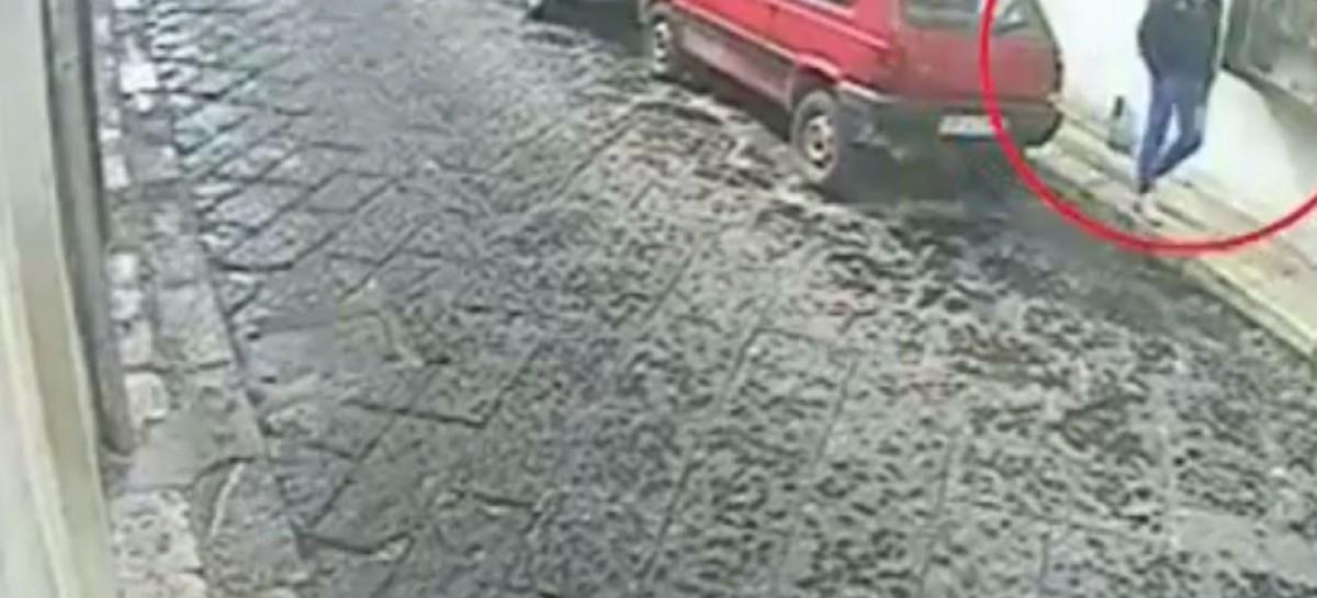 Monte Sant' Angelo, colpo fallito e incastrato dalle telecamere