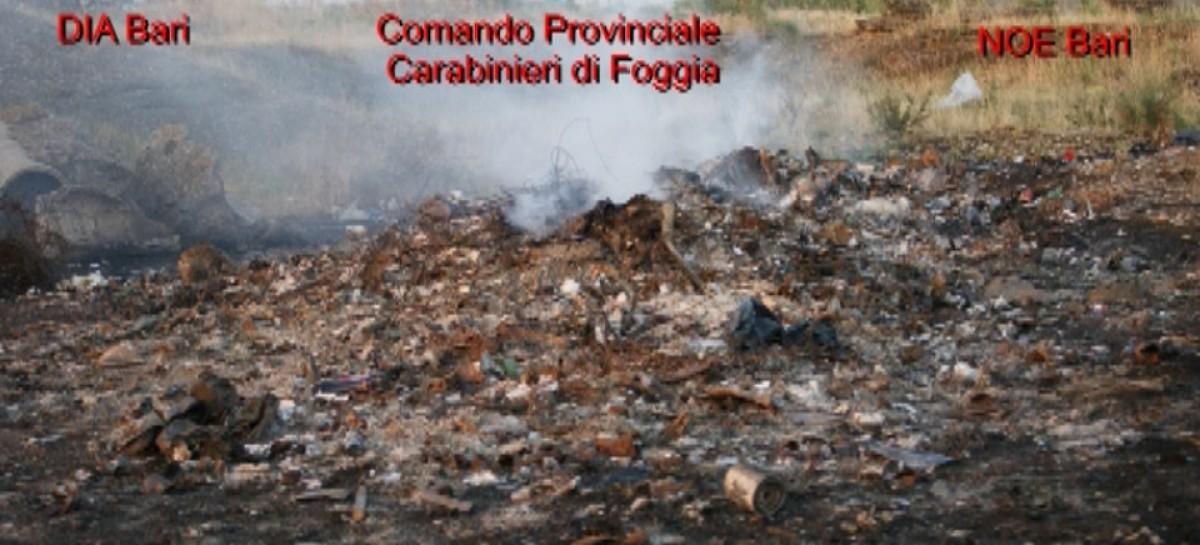 Esito carotaggi. oltre 300 mila tonnellate di rifiuti interrati