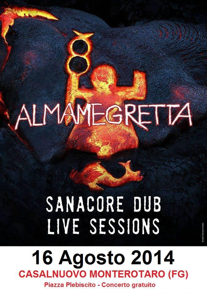 Casalnuovo Monterotaro, il 16 Agosto gli Almamegretta in concerto