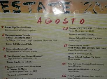 Casalnuovo Monterotaro, la nostra estate 2014