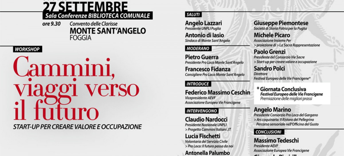 Monte S.Angelo, il Festival Francigena Collective Project