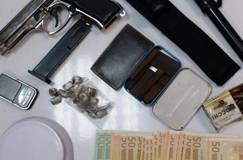 Foggia, armi e droga, un' arresto