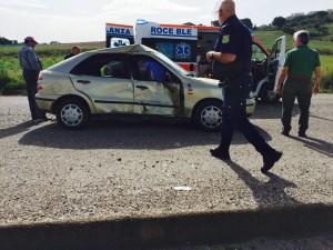 incidente ascoli satriano candela portavalori
