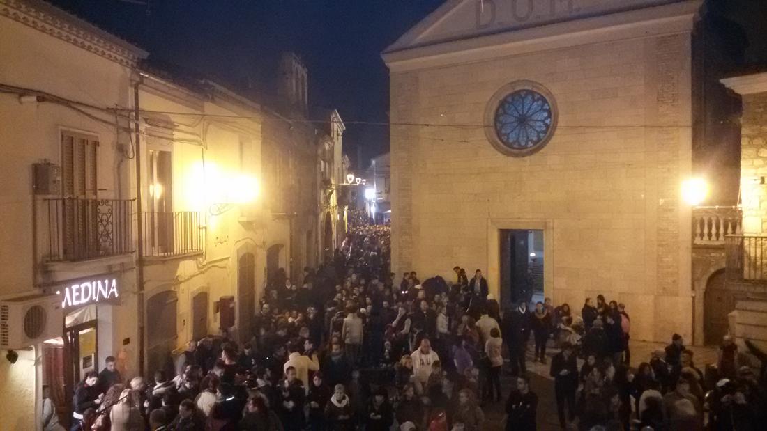 Orsara di Puglia, in 40mila per i Fucacoste e cocce priatorje