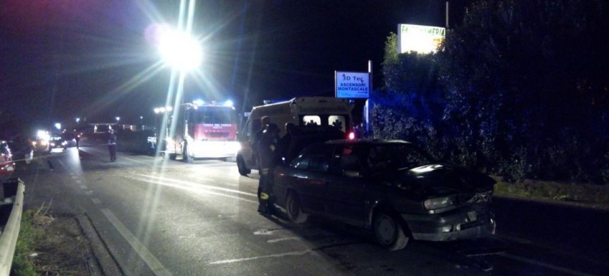 Torremaggiore – San Severo, violente impatto tra due auto, due feriti