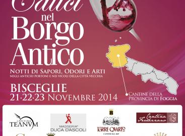 Calici nel Borgo Antico 2014: protagonista anche il vino di Capitanata
