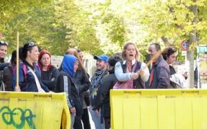 protesta donne via san severo foggia