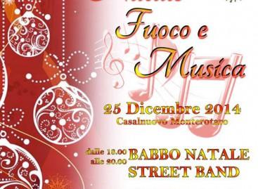 """Casalnuovo Monterotaro, """"Natale, Fuoco e Musica"""""""