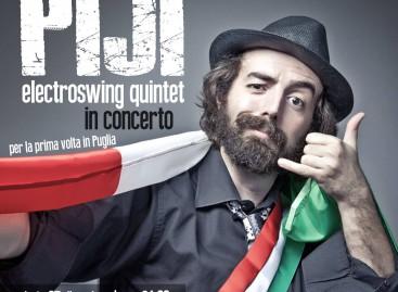 A Foggia, Piji Electroswing Quintet in concerto