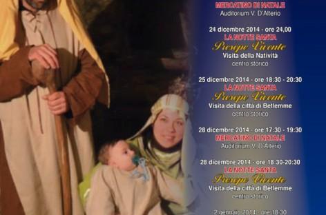 Alberona, arrivano i Re Magi nel Presepe Vivente