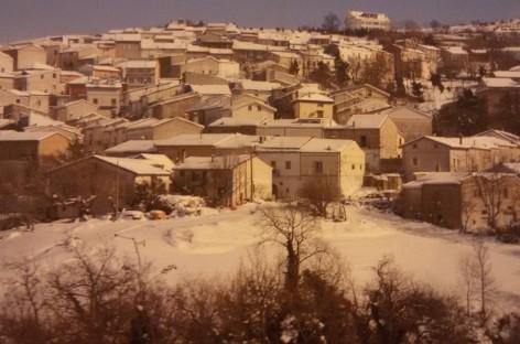 Orsara, perfetta la gestione dell'emergenza neve
