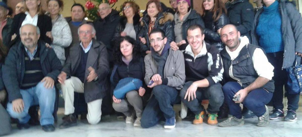L'abete di Orsara adottato da Deliceto 23-01-2015