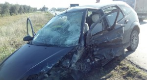 incidente stradale ss16 15 gennaio 2015