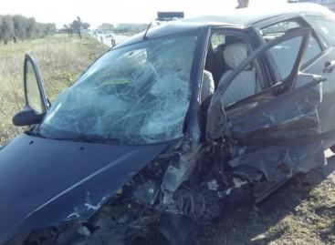 Incidente stradale alle porte di San Severo, due feriti