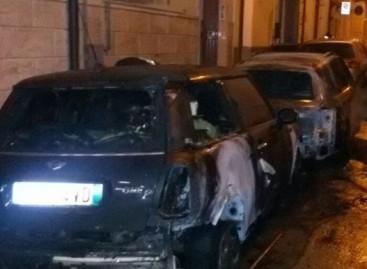 San Severo, quattro auto incendiate nella notte