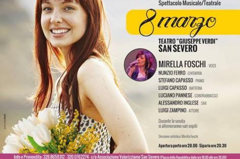Colori di Donna con Mirella Foschi, 8 Marzo a San Severo