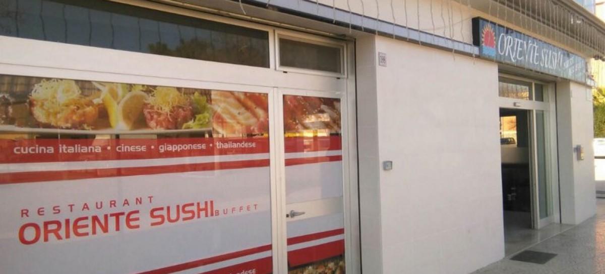 Foggia, altra bomba presso il ristorante Oriente Sushi