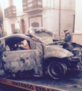 San Marco in Lamis auto carabiniere