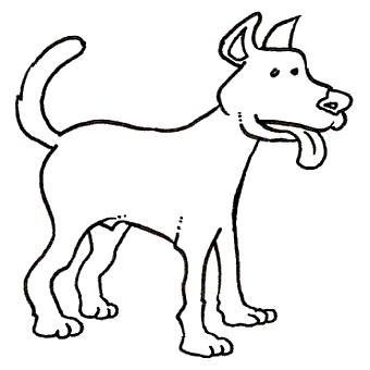 Orsara di puglia ritrovati cinque cani senza vita caccia - Colorazione immagine di un cane ...