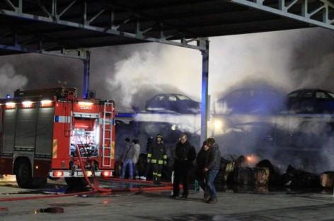 Notte di fuoco a Lucera, Cerignola, Apricena e Orta Nova