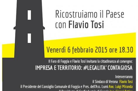 Ricostruiamo il Paese con Flavio Tosi – 06/02/2015