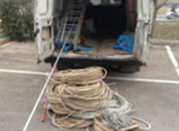 Apricena, ritrovati oltre 700kg di rame: arrestati per ricettazione