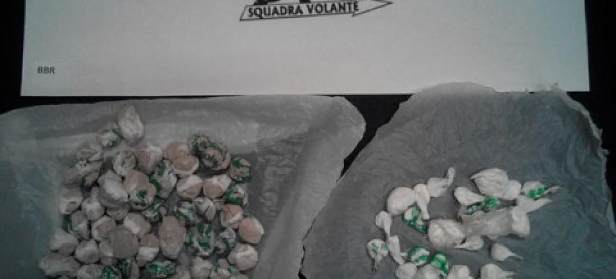 San Severo, sequestrate oltre 90 dosi di droga