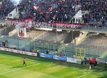 Il Foggia torna a rischio retrocessione dopo pareggio a Brescia