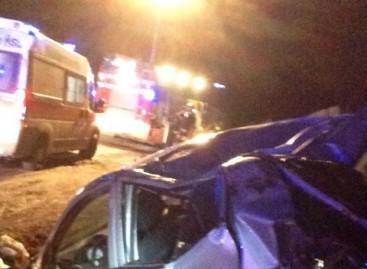 Foggia, grave incidente stradale: tre feriti gravi