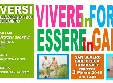 San Severo, gli anziani si mettono in moto – 03/03/2015