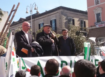 Cia, In 1000 da Foggia per la mobilitazione in difesa dell'agricoltura