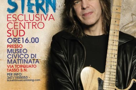 MIKE STERN, Sabato 25 Aprile il Mad ospita il grande chitarrista al Museo Civico