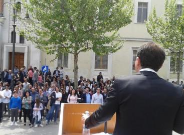 CERIGNOLA: COMIZIO DI FORZA ITALIA PER VITULLO SINDACO, PROGRAMMI CONCRETI