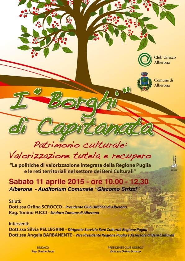 Alberona e i Borghi di Capitanata, 11 Aprile