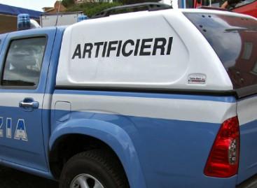 Foggia, tentato furto presso la Banca Popolare di Novara: ordigno rudimentale inesploso