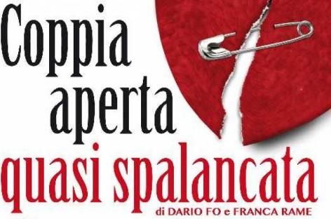 "Pietramontecorvino, ""Coppia aperta quasi spalancata"" – Sabato 18 Aprile"