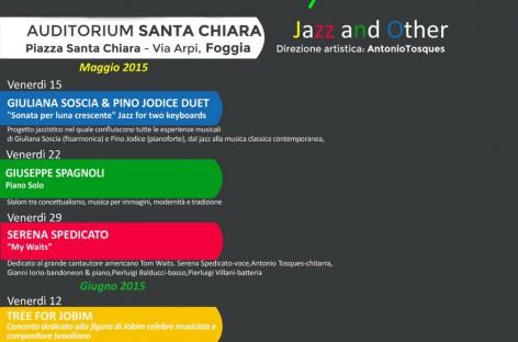 Foggia, Jazz e molto altro – 22 Maggio con il Maestro Giuseppe Spagnoli