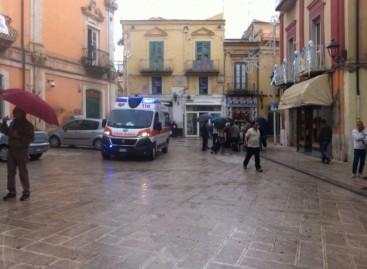 San Severo, violenta aggressione in Piazza Municipio