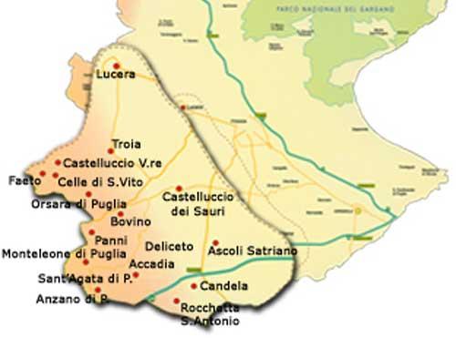 Magici luoghi della Puglia, il Subappennino Dauno